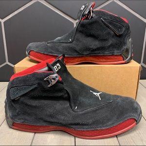 Air Jordan 18 Retro Countdown Pack Black Size 14